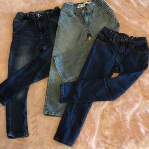 3 stylish boys jeans Levi's, Mango, and Zara